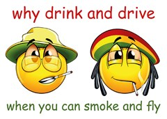 3 why drink and drive when you can smoke and fly -